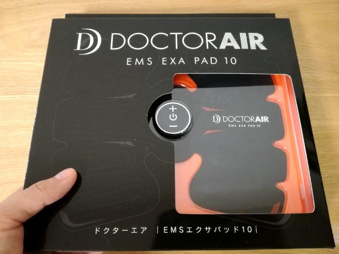 ドクターエアemsエクサパッド10